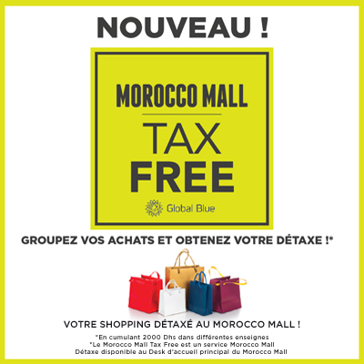 Morocco Mall: TAX FREE