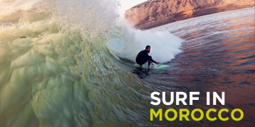 Surf in Morocco